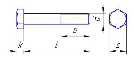 Болт М8 схема
