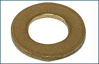 DIN 125В Шайба круглая с фаской, латунь