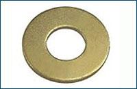 DIN 9021 Шайба кузовная 100 HV, латунь
