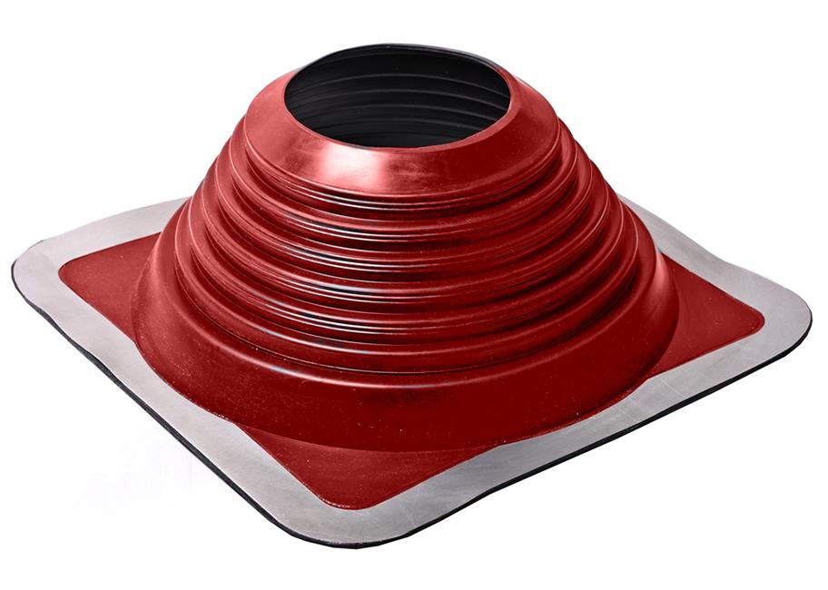 Уплотнитель кровельных проходов, Master Flash Прямой №7, epdm, красный