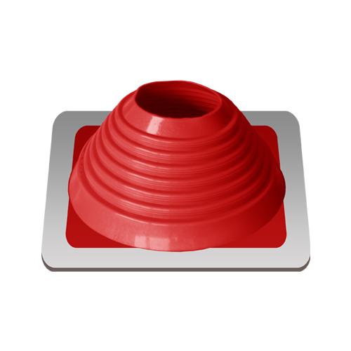Уплотнитель кровельных проходов, Master Flash Прямой №6, epdm, красный