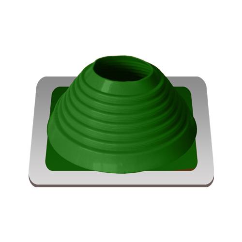 Уплотнитель кровельных проходов, Master Flash Прямой №6, epdm, зеленый