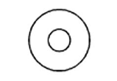 DIN 1052 Шайба плоская увеличенная подкладная для деревянных элементов