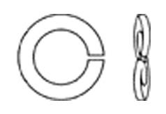 DIN 128Шайба пружинная одновитковая, форма В