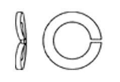 DIN 128 Шайба пружинная одновитковая, форма А