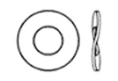 DIN 137 В Шайба пружинная волнистая, форма В