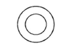 DIN 1440 Шайба плоская усиленная под палец