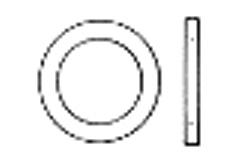 DIN 1441 Шайба плоская под палец