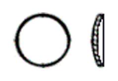 DIN 470 Шайба запорная стальная