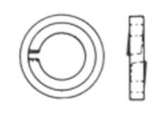 DIN 6913 Шайба пружинная с защитным пояском (кожухом), стальная