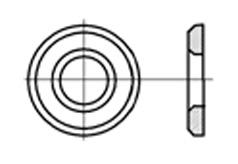 DIN 6916 Шайба закалённая круглая, высокопрочная