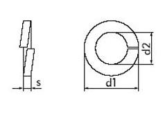 DIN 7980 - Шайба пружинная