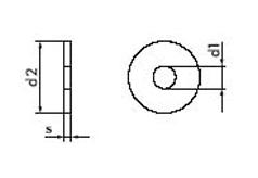 DIN 9021 Шайба плоская увеличенная