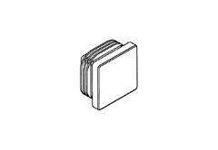 Заглушка пластиковая АК для монтажа шин