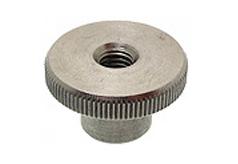 DIN 466 - Гайка рифленая (с накаткой), высокая, нажимная, круглая