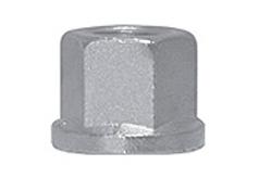 DIN 6331 Гайка шестигранная высокая с фланцем (буртиком), высота ~ 1.5 d