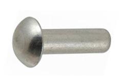 DIN 660 Заклёпка под молоток стальная с полукруглой головкой