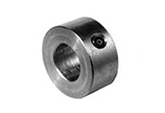 DIN 703 Кольцо установочное с гнездом для винта, стальное, нержавеющее