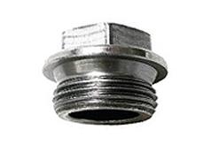 DIN 7604 Пробка (заглушка) резьбовая с шестигранной головкой и фланцем