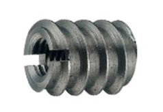 DIN 7965 Муфта мебельная резьбовая стальная со шлицем