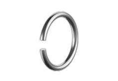DIN 7993 - Кольцо формы A стопорное пружинное наружное, круглого сечения для валов