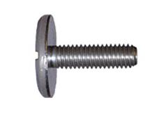 DIN 921 Винт с большой плоской цилиндрической головкой с прямым шлицем