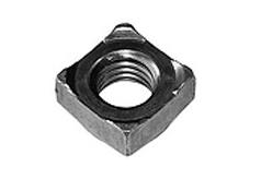 DIN 928 Гайка квадратная приварная, стальная, нержавеющая