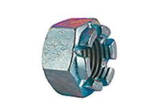 DIN 935 - Гайка шестигранная корончатая