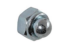 DIN 986 - Гайка колпачковая самоконтрящаяся (самостопорящаяся) оцинкованная