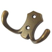 Крючок мебельный K203AB.2 антик
