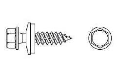 Шуруп саморез для гипсокартона CF (по гипсу), остроконечный