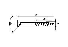 Шуруп-саморез SPAX для крепления деревянных конструкций