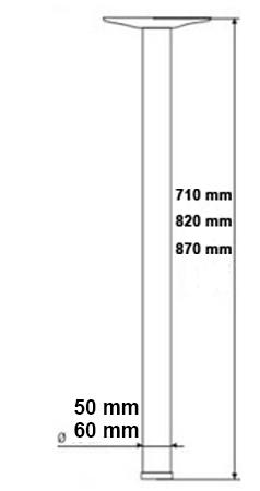Схема ножки для стола