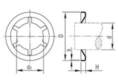 Схема STARLOCK без колпачка